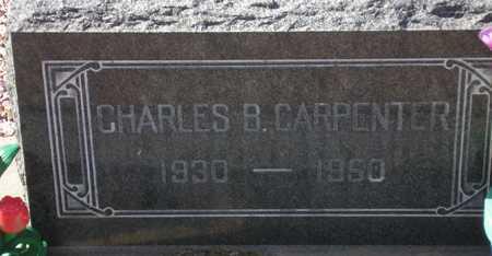 CARPENTER, CHARLES B. - Maricopa County, Arizona | CHARLES B. CARPENTER - Arizona Gravestone Photos