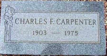CARPENTER, CHARLES F. - Maricopa County, Arizona   CHARLES F. CARPENTER - Arizona Gravestone Photos