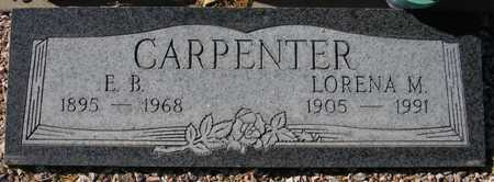 CARPENTER, E. B. - Maricopa County, Arizona | E. B. CARPENTER - Arizona Gravestone Photos