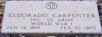 CARPENTER, ELDORADO - Maricopa County, Arizona   ELDORADO CARPENTER - Arizona Gravestone Photos