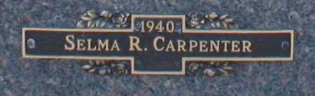 CARPENTER, SELMA R - Maricopa County, Arizona | SELMA R CARPENTER - Arizona Gravestone Photos