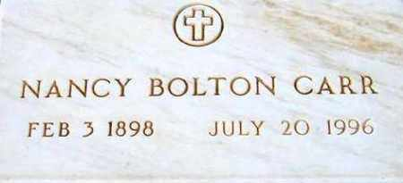 BOLTON CARR, NANCY - Maricopa County, Arizona | NANCY BOLTON CARR - Arizona Gravestone Photos