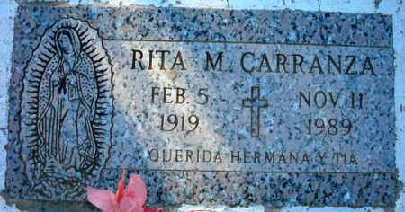 CARRANZA, RITA M. - Maricopa County, Arizona   RITA M. CARRANZA - Arizona Gravestone Photos