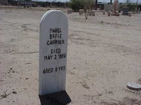 CARRIER, MABLE EFFIE - Maricopa County, Arizona | MABLE EFFIE CARRIER - Arizona Gravestone Photos