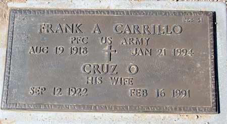 CARRILLO, FRANK A. - Maricopa County, Arizona | FRANK A. CARRILLO - Arizona Gravestone Photos
