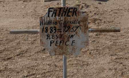 CARRILLO, HILARIO - Maricopa County, Arizona | HILARIO CARRILLO - Arizona Gravestone Photos