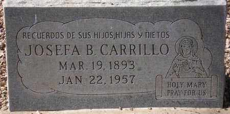 CARRILLO, JOSEFA B. - Maricopa County, Arizona | JOSEFA B. CARRILLO - Arizona Gravestone Photos