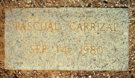 CARRIZAL, PASCUAL - Maricopa County, Arizona | PASCUAL CARRIZAL - Arizona Gravestone Photos