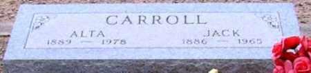 CARROLL, JACK - Maricopa County, Arizona   JACK CARROLL - Arizona Gravestone Photos