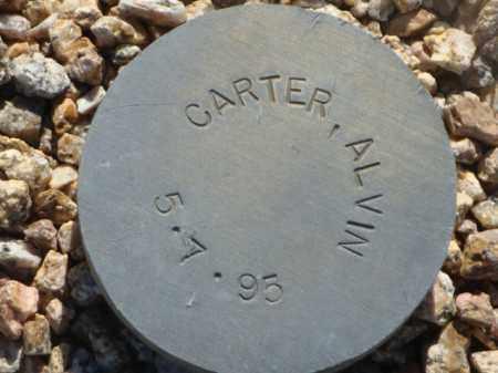 CARTER, ALVIN - Maricopa County, Arizona | ALVIN CARTER - Arizona Gravestone Photos