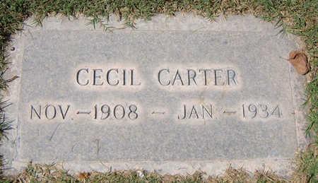 CARTER, CECIL - Maricopa County, Arizona | CECIL CARTER - Arizona Gravestone Photos