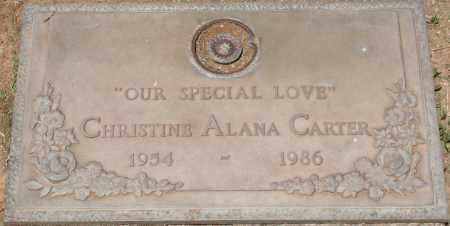 CARTER, CHRISTINE ALANA - Maricopa County, Arizona   CHRISTINE ALANA CARTER - Arizona Gravestone Photos
