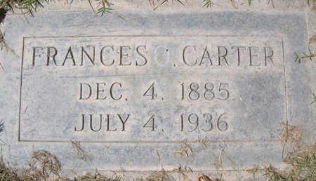 CARTER, FRANCES O. - Maricopa County, Arizona | FRANCES O. CARTER - Arizona Gravestone Photos