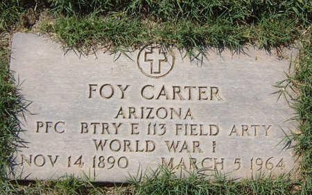 CARTER, FOY MARION - Maricopa County, Arizona   FOY MARION CARTER - Arizona Gravestone Photos