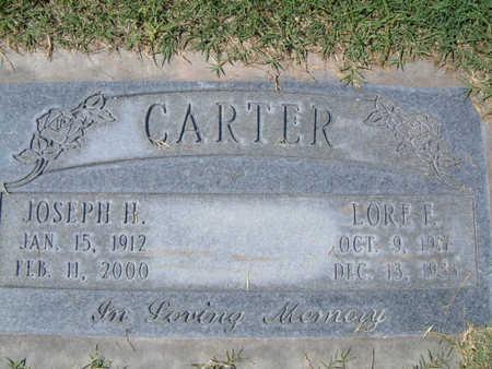 CARTER, LORE FLORENCE - Maricopa County, Arizona | LORE FLORENCE CARTER - Arizona Gravestone Photos