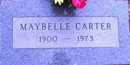 CARTER, MAYBELLE - Maricopa County, Arizona | MAYBELLE CARTER - Arizona Gravestone Photos