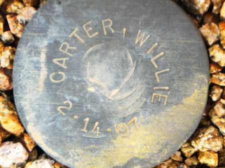 CARTER, WILLIE - Maricopa County, Arizona   WILLIE CARTER - Arizona Gravestone Photos