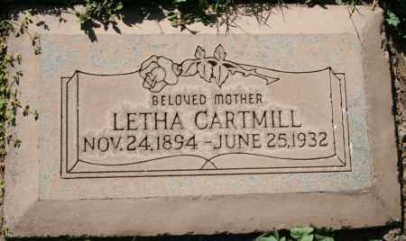 HENDRIX CARTMILL, LETHA MAY - Maricopa County, Arizona | LETHA MAY HENDRIX CARTMILL - Arizona Gravestone Photos