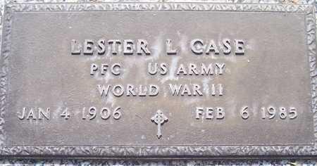 CASE, LESTER L. - Maricopa County, Arizona | LESTER L. CASE - Arizona Gravestone Photos