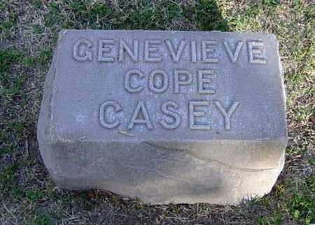 COPE CASEY, GENEVIEVE - Maricopa County, Arizona | GENEVIEVE COPE CASEY - Arizona Gravestone Photos