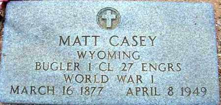 CASEY, MATT - Maricopa County, Arizona   MATT CASEY - Arizona Gravestone Photos