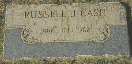 CASH, RUSSELL J. - Maricopa County, Arizona | RUSSELL J. CASH - Arizona Gravestone Photos