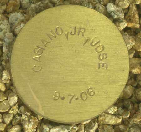 CASIANO, JOSE, JR - Maricopa County, Arizona | JOSE, JR CASIANO - Arizona Gravestone Photos