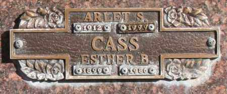 CASS, ESTHER B - Maricopa County, Arizona | ESTHER B CASS - Arizona Gravestone Photos