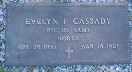 CASSADY, EVELYN F - Maricopa County, Arizona   EVELYN F CASSADY - Arizona Gravestone Photos