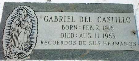 CASTILLO, GABRIEL DEL - Maricopa County, Arizona | GABRIEL DEL CASTILLO - Arizona Gravestone Photos