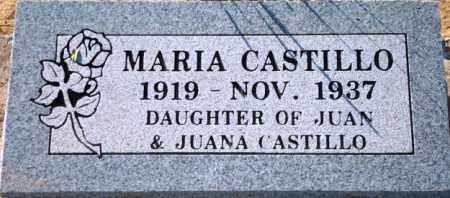 CASTILLO, MARIA - Maricopa County, Arizona | MARIA CASTILLO - Arizona Gravestone Photos