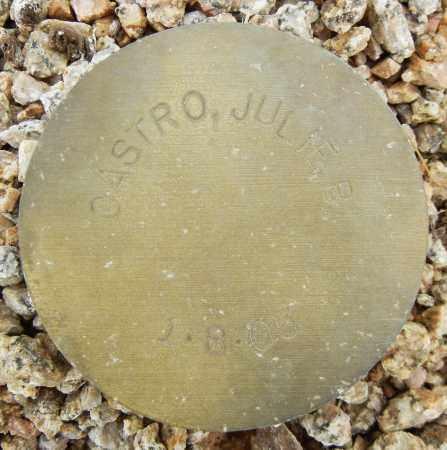 CASTRO, JULIE P - Maricopa County, Arizona | JULIE P CASTRO - Arizona Gravestone Photos