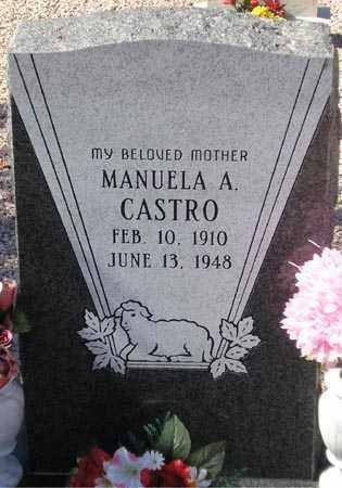 CASTRO, MANUELA A. - Maricopa County, Arizona | MANUELA A. CASTRO - Arizona Gravestone Photos