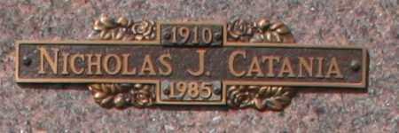 CATANIA, NICHOLAS J - Maricopa County, Arizona | NICHOLAS J CATANIA - Arizona Gravestone Photos