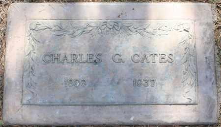 CATES, CHARLES G - Maricopa County, Arizona | CHARLES G CATES - Arizona Gravestone Photos