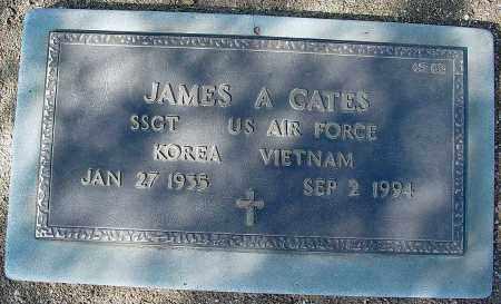 A. CATES, JAMES - Maricopa County, Arizona | JAMES A. CATES - Arizona Gravestone Photos