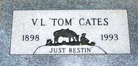 CATES, V.L. (TOM) - Maricopa County, Arizona | V.L. (TOM) CATES - Arizona Gravestone Photos