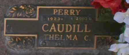 CAUDILL, PERRY - Maricopa County, Arizona | PERRY CAUDILL - Arizona Gravestone Photos