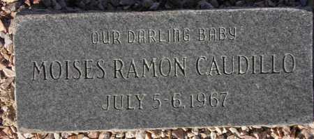 CAUDILLO, MOISES RAMON - Maricopa County, Arizona | MOISES RAMON CAUDILLO - Arizona Gravestone Photos