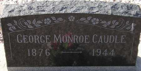 CAUDLE, GEORGE MONROE - Maricopa County, Arizona | GEORGE MONROE CAUDLE - Arizona Gravestone Photos