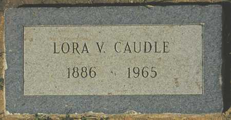 CAUDLE, LORA V. - Maricopa County, Arizona | LORA V. CAUDLE - Arizona Gravestone Photos