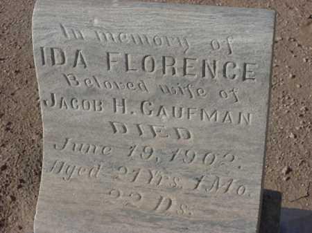 CAUFMAN, IDA FLORENCE - Maricopa County, Arizona | IDA FLORENCE CAUFMAN - Arizona Gravestone Photos