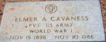 CAVANESS, ELMER A. - Maricopa County, Arizona | ELMER A. CAVANESS - Arizona Gravestone Photos