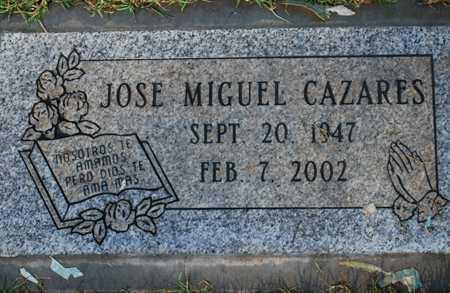 CAZARES, JOSE MIGUEL - Maricopa County, Arizona | JOSE MIGUEL CAZARES - Arizona Gravestone Photos