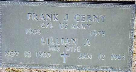 CERNY, FRANK J. - Maricopa County, Arizona | FRANK J. CERNY - Arizona Gravestone Photos
