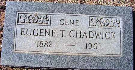 CHADWICK, EUGENE T. (GENE) - Maricopa County, Arizona | EUGENE T. (GENE) CHADWICK - Arizona Gravestone Photos