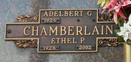 CHAMBERLAIN, ETHEL P - Maricopa County, Arizona | ETHEL P CHAMBERLAIN - Arizona Gravestone Photos