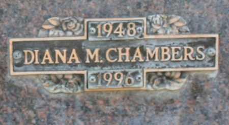 CHAMBERS, DIANA M - Maricopa County, Arizona   DIANA M CHAMBERS - Arizona Gravestone Photos