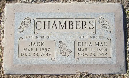 CHAMBERS, ELLA MAE - Maricopa County, Arizona | ELLA MAE CHAMBERS - Arizona Gravestone Photos