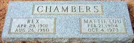 CHAMBERS, REX - Maricopa County, Arizona | REX CHAMBERS - Arizona Gravestone Photos